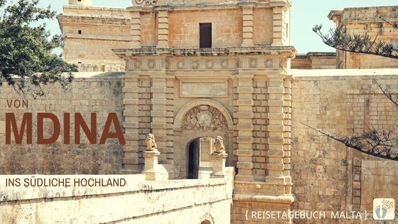Malta autofrei erkunden: Tag 02: Besuch von Mdina und Wanderung von Buskett Gardens nach Siggiewi